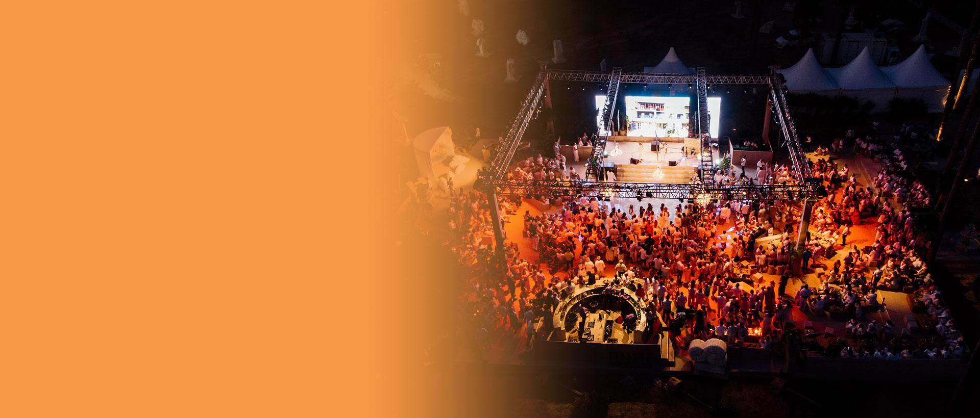 Anthaven için görkemli kutlama: <br> CENNETE DAVET