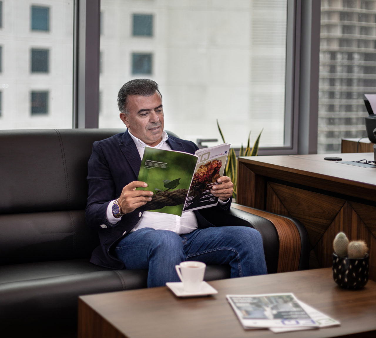 Unilever'in rahleyi tedrisinden geçen Ömer Özdemir,  Ant Yapı'ya duyduğu güvenin nedenini, aynı iş ve kalite anlayışına bağlıyor.