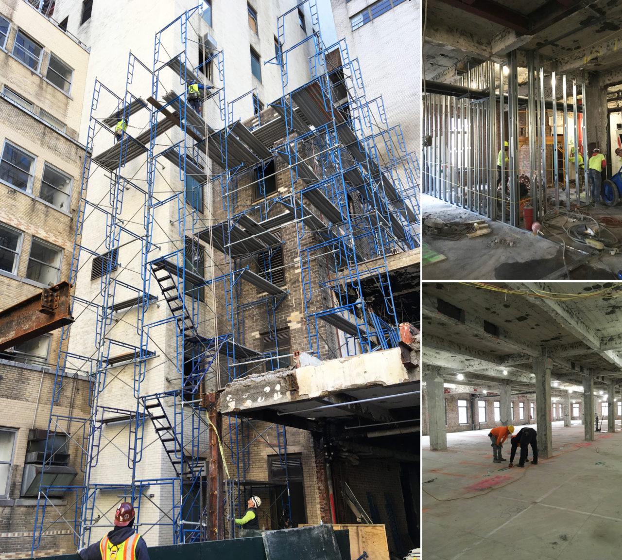 Ant Yapı'nın renovasyonunu üstlendiği The Crown Building, New York'un tarihi simgelerinden. Proje değeri 352 milyon dolar.