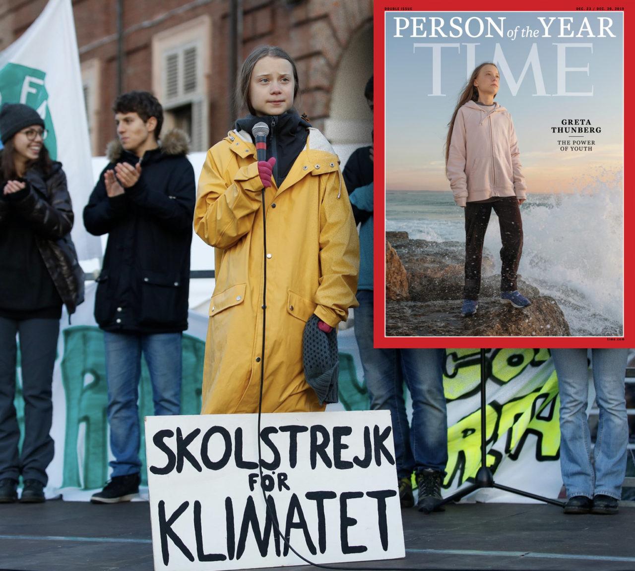 """16 yaşındaki Greta Thundberg, BM İklim Zirvesi'nde yaptığı konuşmada, """"Bizi hayal kırıklığına uğratıyorsunuz,"""" demişti."""