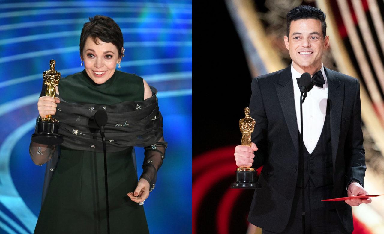 91. Oscar Ödüllerinde Olivia Colman En İyi Kadın Oyuncu, Rami Melek En İyi Erkek Oyuncu ödüllerinin sahibi oldu.